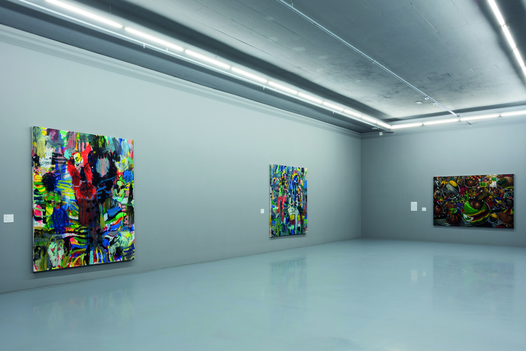 Five Bhobh: Painting at the End of an Era. Politics theme. Installation view. ©Zeitz MOCAA.