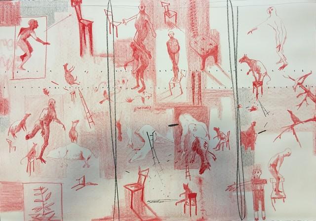 , 'EQUILIBRE SOCIAL,' 2018, LouiSimone Guirandou Gallery