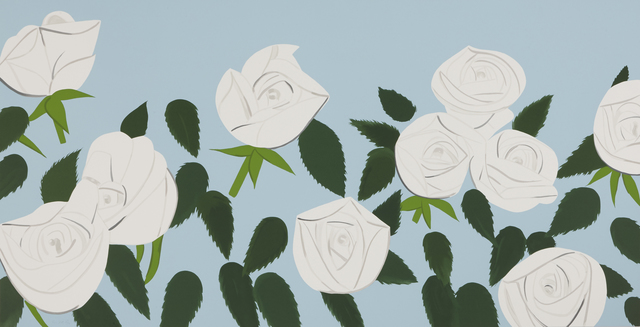 Alex Katz, 'White roses', 2014, Weng Contemporary