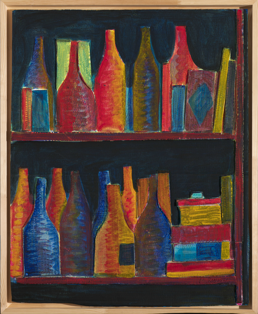 , 'Orange bottels on black background,' 1978, Art4.ru