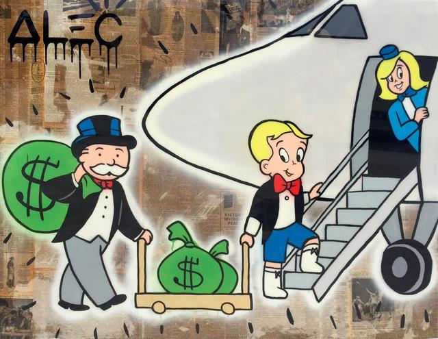 , 'Richie Monops PJ with Stewardess,' 2017, Eden Fine Art
