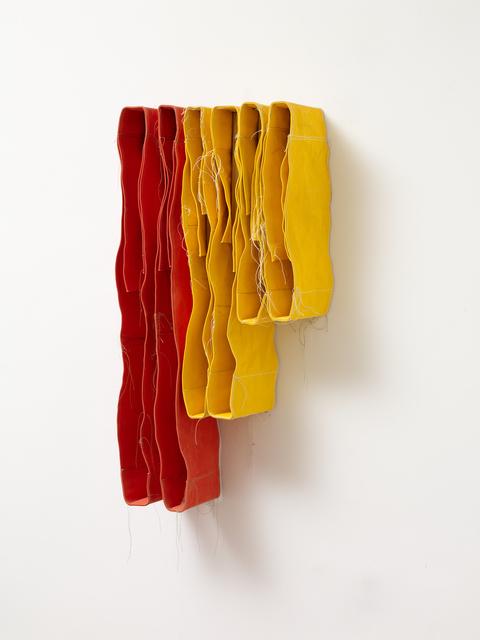 Simon Callery, 'Step Yellow & Orange Wallspine', 2018, ALICE BLACK