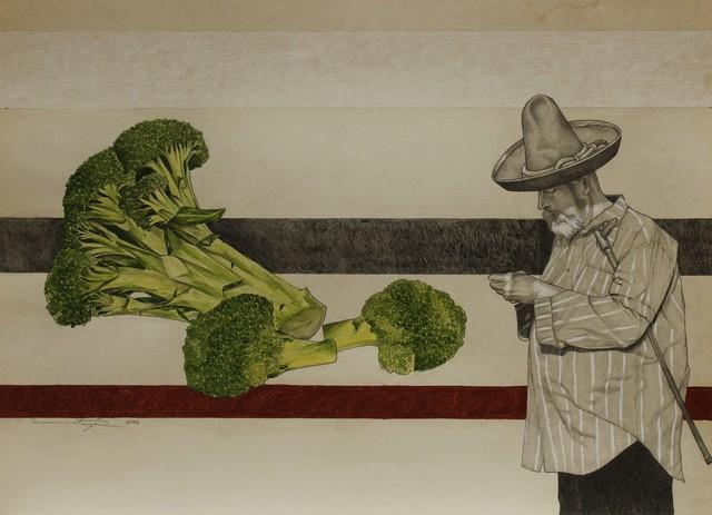 Ezequiel Ortega, 'No Title (Broccoli)', 2018-2019, La Mano Magica