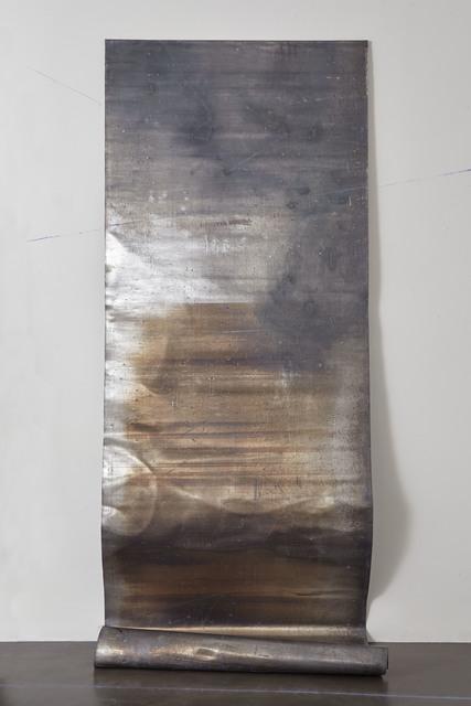 , 'Carta del cielo. Novembre,' 2018, Galleria Anna Marra