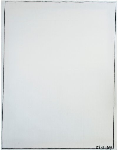 , 'Nothing To Be Afraid Of V 22.8.69,' 1969, Richard Saltoun