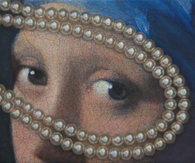 Lucy Mackenzie, 'Vermeer Eyes with Pearls', 2012, Nancy Hoffman Gallery