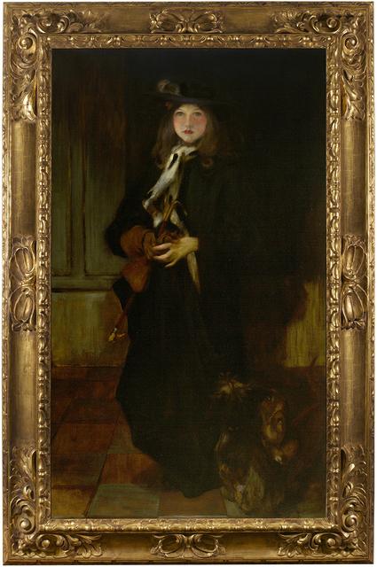 James Jebusa Shannon, 'Kitty', ca. 1897, Debra Force Fine Art