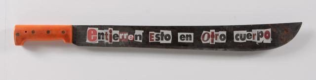 , 'Entierren esto en otro corpo,' 2013, Baró Galeria