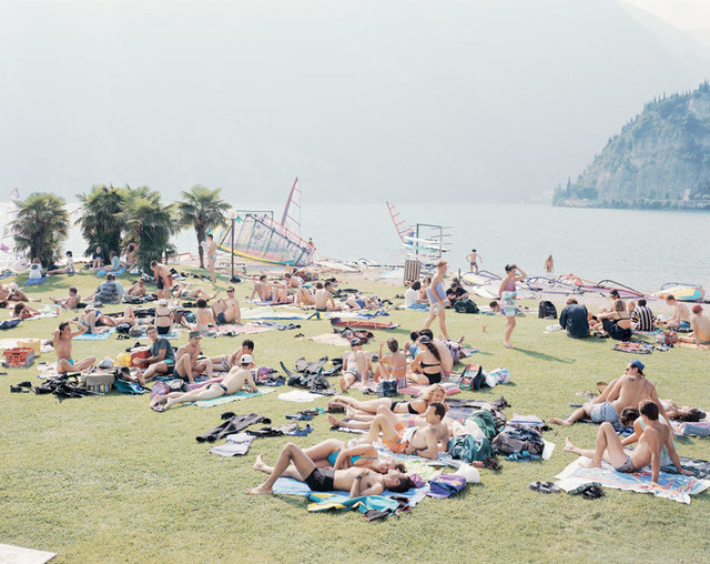 Massimo Vitali, 'Garda Look', ca. 2002, Photography, Offset Lithograph on Consort Royal 300gm paper, Kenneth A. Friedman & Co.