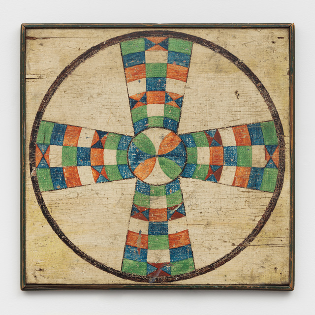 , 'Parcheesi Variation Game Board,' Late 19th Century, Ricco/Maresca Gallery
