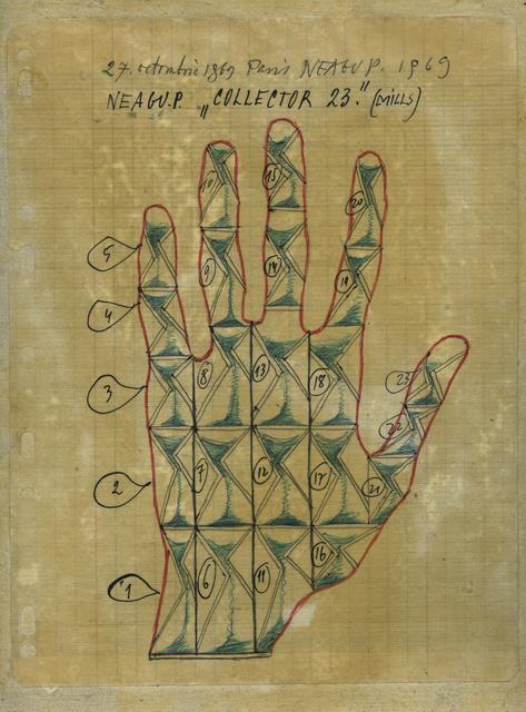 , 'Collector 23 (Mills) Human Hand,' 1969, Ivan Gallery