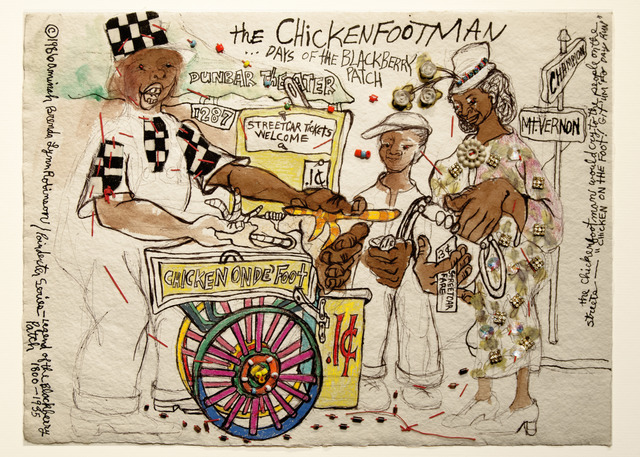 , 'Poindexter Series: The Chickenfoot Man,' 1986, ACA Galleries