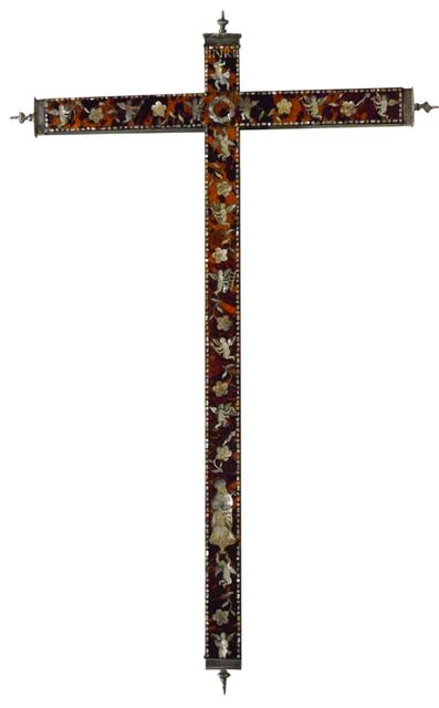 , 'Cruz de carey,' Siglo XVIII, Mario Uvence