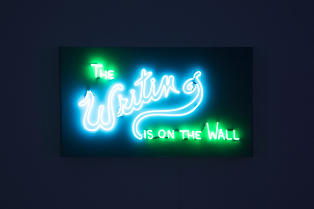 , 'The Writing Is On The Wall,' 2017, Winsor Gallery