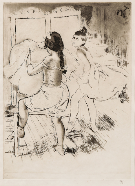Louis Legrand, 'L'Habillage', 1908, Print, Etching and aquatint on paper, Skinner