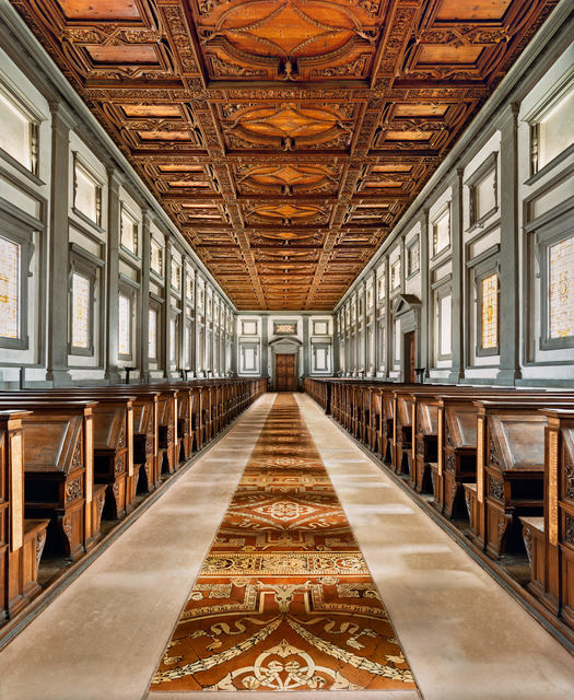 , 'Library of Laurenziana (Michelangelo), Florence,' 2016, Elipsis Projects