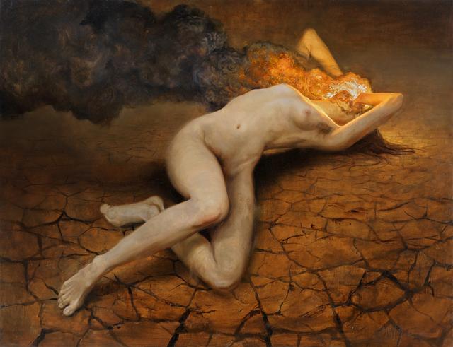 , 'Agony,' , Aux Gallery
