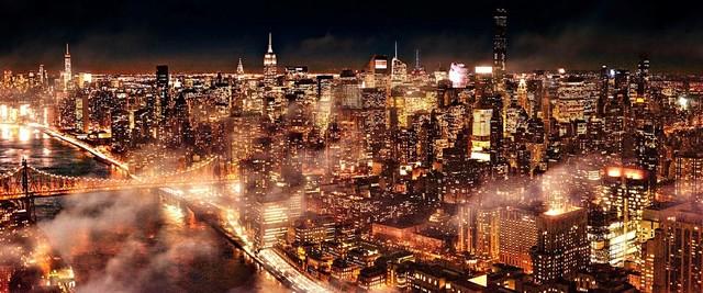 David Drebin, 'Electric City, Manhattan, New York', 2016, CHROMA GALLERY