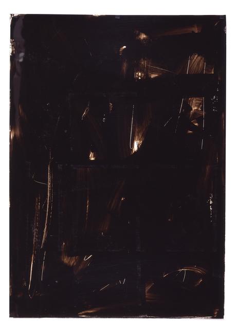 , 'Ohne Titel (Folienzeichnung 55),' 1990, Jahn und Jahn