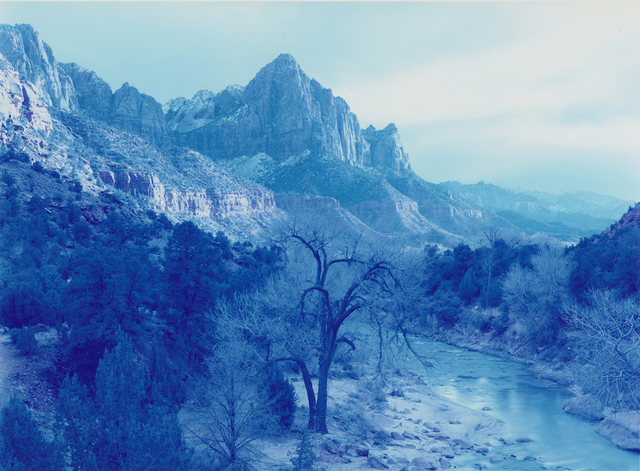 , 'Winter Storm, Zion Canyon, Utah,' 2013, Fraenkel Gallery