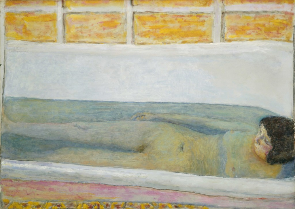 "Pierre BONNARD ""The bath (Baignoire (Le bain))"", 1925,  oil paint on canvas, Tate: Presented by Lord Ivor Spencer Churchill through the Contemporary Art Society 1930 image ©Tate,London 2017"