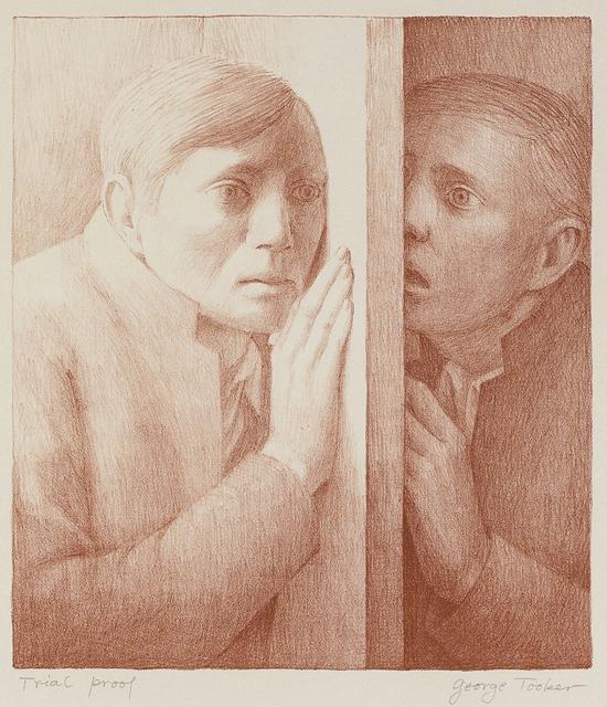 George Tooker, 'Voice', 1977, John Moran Auctioneers