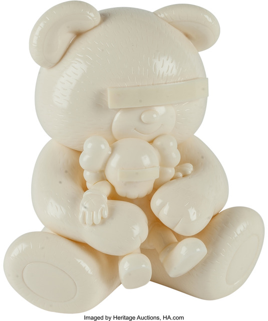 KAWS, 'Companion, Undercover Bear (White)', Heritage Auctions