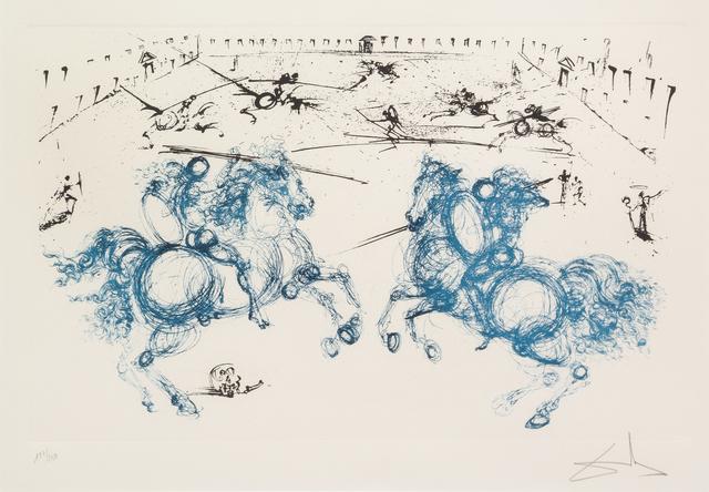 Salvador Dalí, 'Los Caballeros from La vida es sueño', 1971, Hindman
