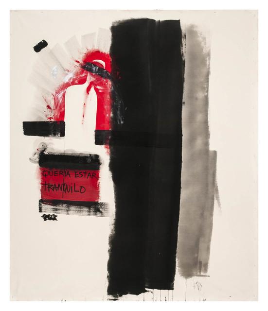 , 'Queria estar tranquilo,' 2014, Roberto Alban Galeria de Arte