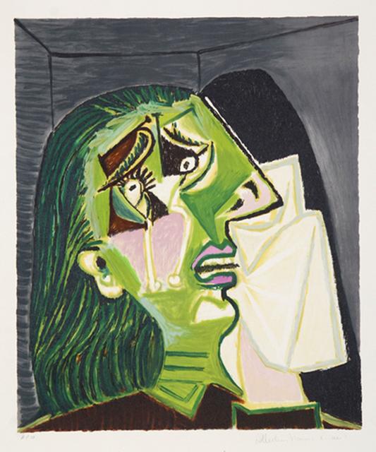 Pablo Picasso, 'Femme au Mouchoir', 1937, michael lisi / contemporary art
