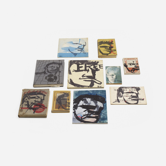 Robert Loughlin, 'Untitled (ten works on vintage books)', Wright