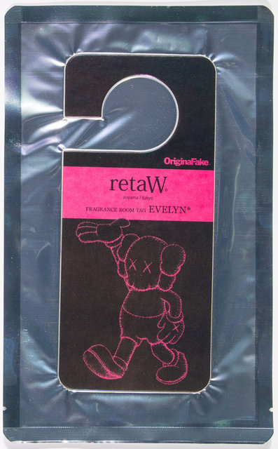 KAWS, 'Fragrance Room Tag Evelyn', n.d., Heritage Auctions
