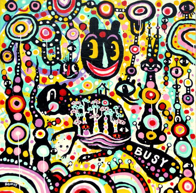 , 'Busy,' 2017, Spalding Nix Fine Art