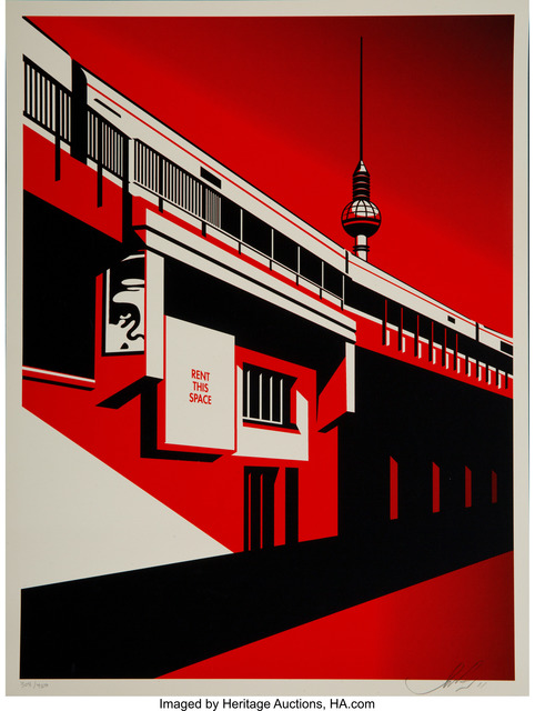 Shepard Fairey (OBEY), 'Berlin Tower, from Billboard Series', 2011, Heritage Auctions