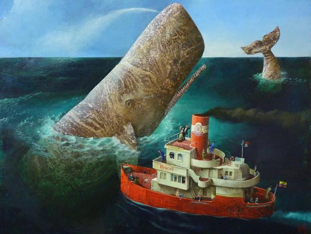, 'A Whale!,' 2016, Rebecca Hossack Art Gallery