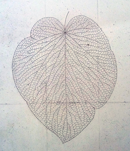 , 'The Leaf 133120,' 2013, Leehwaik Gallery