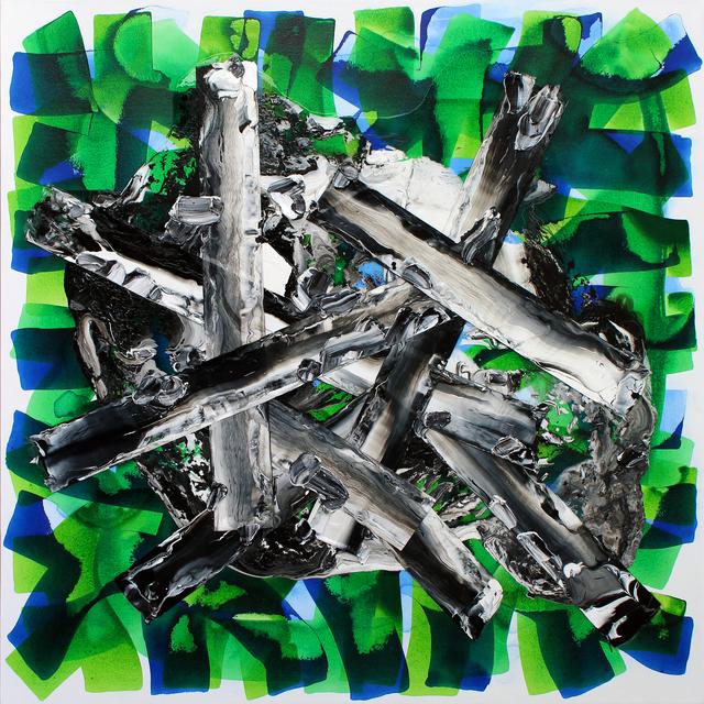, 'Fence,' 2018, Sopa Fine Arts