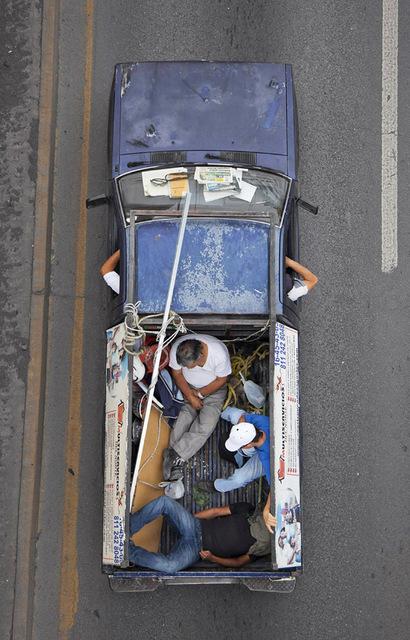 Alejandro Cartagena, 'Carpooler #45', 2011, Circuit Gallery