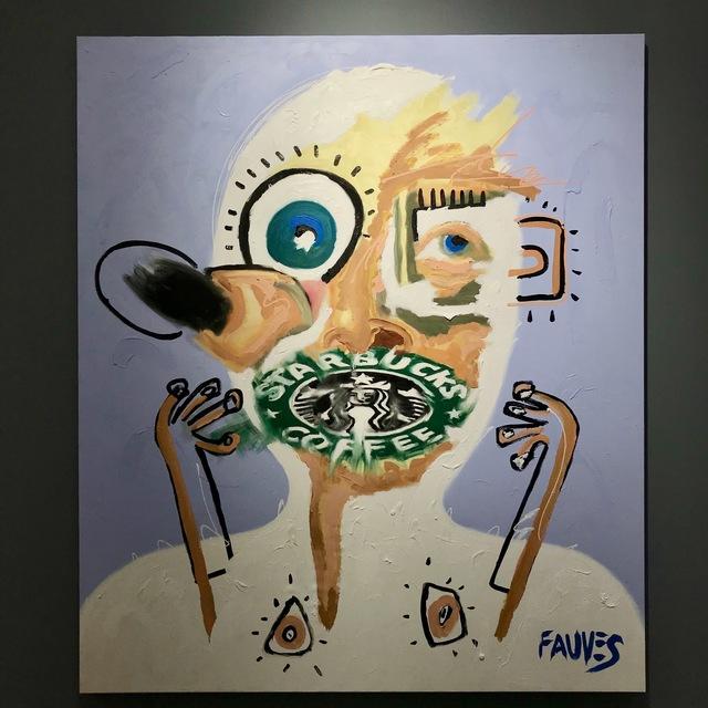 , 'Starbucks NoProfile,' 2018, Jacob Babchuk Gallery