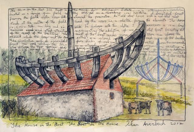 , 'The House in the Boat The Boat in the House,' 2017, Nancy Hoffman Gallery