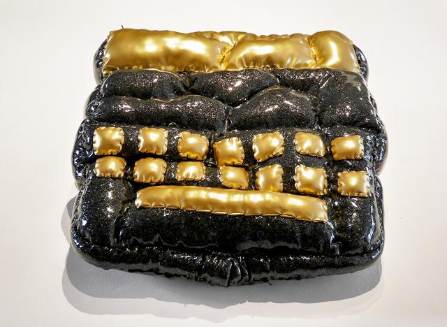 , 'Type-writer contaminated by a fat virus,' 2016, Galerie Geraldine Banier