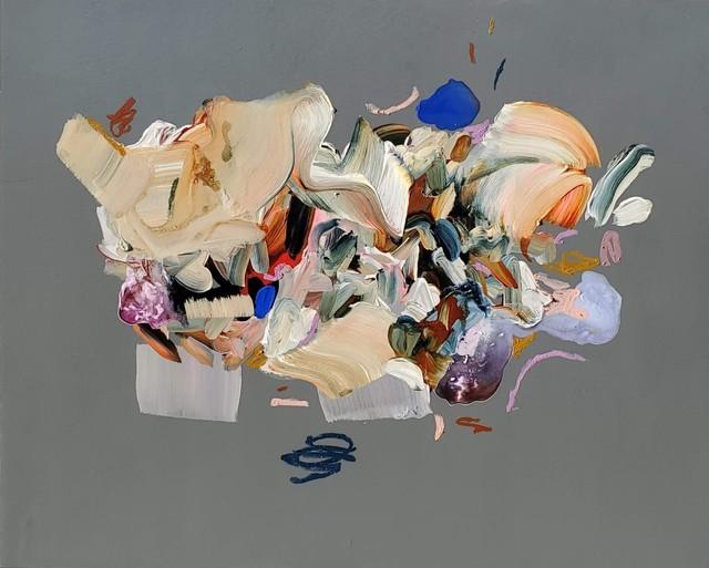 Janna Watson, 'Slate Plate', 2021, Painting, Mixed media on panel, Bau-Xi Gallery
