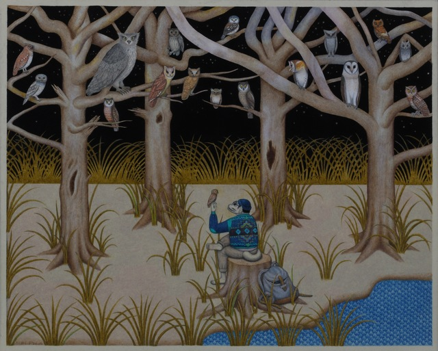 David Jien, 'The Knight Owls', 2010-2016, Coleccion SOLO