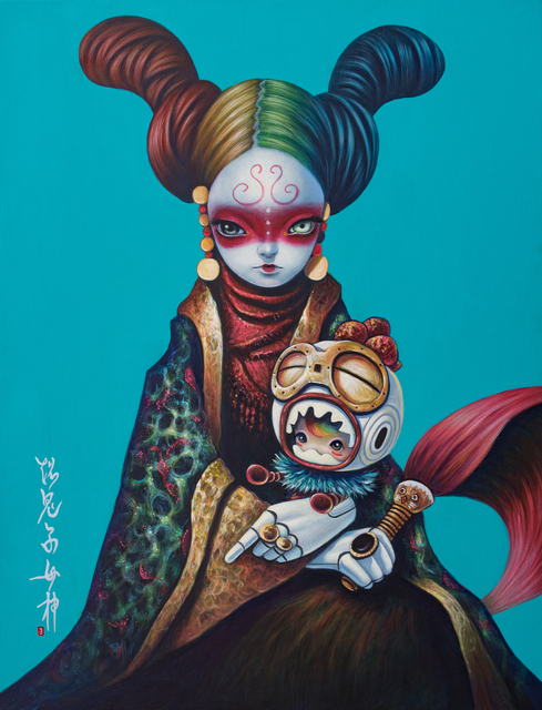 , 'Super Kishimojin,' 2019, Dorothy Circus Gallery