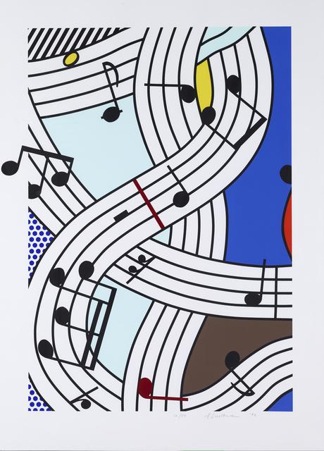 Roy Lichtenstein, 'Composition I', 1996, Fine Art Mia