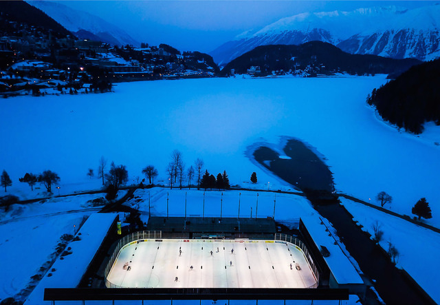 David Ondaatje, 'The Varsity Match, St. Moritz, Switzerland', ROSEGALLERY