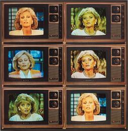 T.V. Network Newswomen Corresponding (Barbara Walters and Faith Daniels)