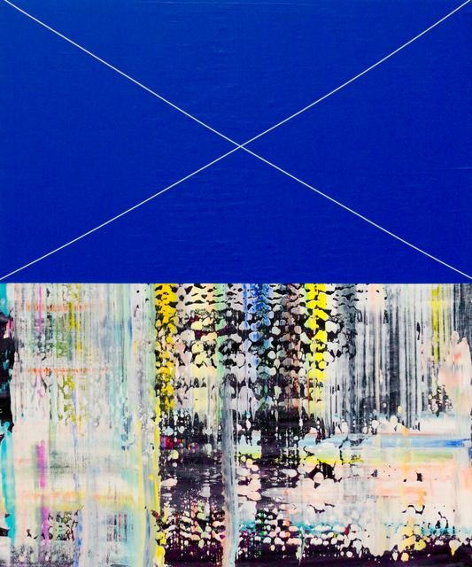 , 'Blue Drag Purro,' 2016, Newzones