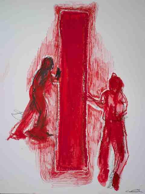 Chiharu Shiota, 'Red Door', 2013, NF/ NIEVES FERNANDEZ