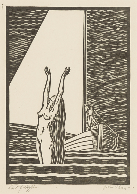 , 'The White Sail, or Siren,' ca. 1945, Childs Gallery